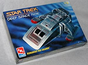 Star Trek Deep Space Nine Runabout Rio Grande Model Kit