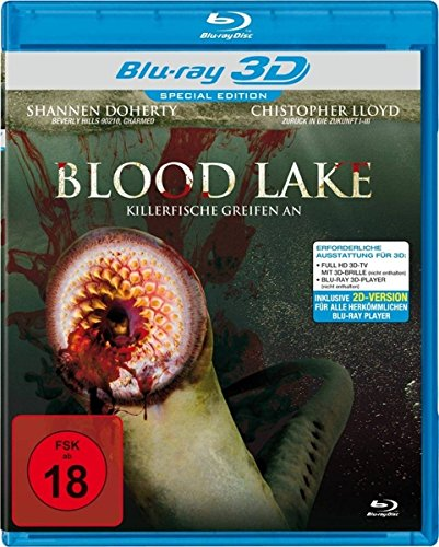 Blood Lake - Killerfische greifen an [3D Blu-ray] [Special Edition]