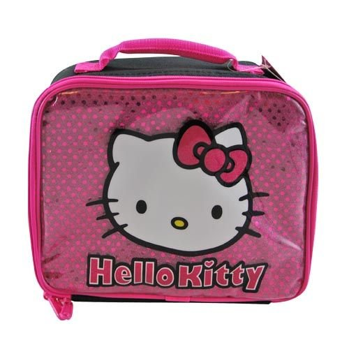 Hello Kitty® Glitter Lunch Tote - 1