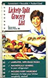 img - for Lickety-Split Grocery List book / textbook / text book