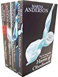 Marina Anderson Marina Anderson 4 Books Collection Pack Set RRP: £31.96 (The Discipline, Forbidden Desires, Dark Secret, Haven Of Obedience)