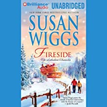 Fireside: The Lakeshore Chronicles (       UNABRIDGED) by Susan Wiggs Narrated by Joyce Bean