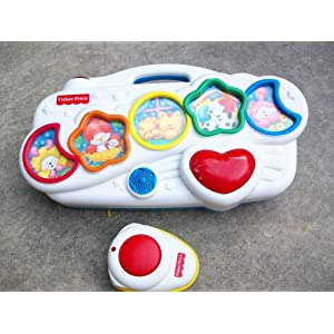 Baby Crib Musical Toys on Fisher Price Baby Crib Car Seat Musical Toy With Remote  Toys   Games