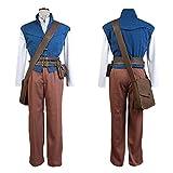 (MRCOS)塔の上のラプンツェルフリン・ライダーコスプレ衣装塔の上のラプンツェル フリンコスプレ ディズニーコスチューム衣装男性XL