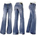BRAPPERS(ブラッパーズ)〔新美脚jeans〕ユニセックスフレアー〔LB4043〕