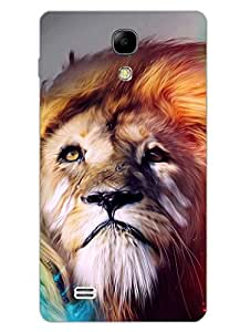 His Majesty - Majestic Lion - Designer Printed Hard Back Shell Case Cover for Samsung S4 Mini Superior Matte Finish Samsung S4 Mini Cover Case