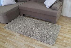 Hochflor Shaggy Teppich Fan sand schlamm Langflor (133 x 190 cm)    Kundenbewertung und Beschreibung