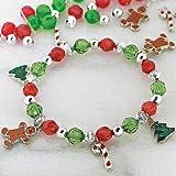 12 Beaded Holiday Charm Bracelet Craft Kits