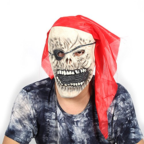 B&Y Halloween Pirate Devil Funny Halloween Mask (Sea Devil Costume compare prices)