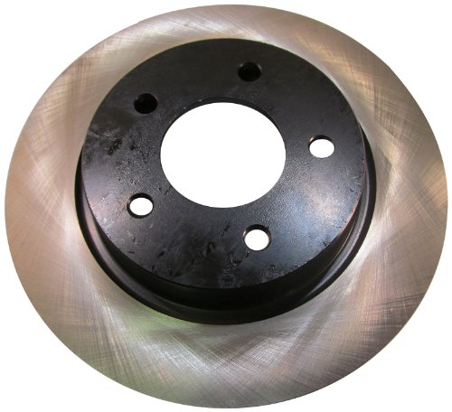 Centric Parts 120.45067 Premium Brake Rotor With E-Coating