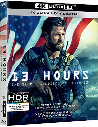 4K Blu-ray : 13 Hours: Secret Soldiers Of Benghazi (2 Discos)