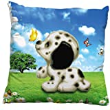 Cute Dog 3D Stamped Cross Stitch Cushion