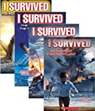 img - for I Survived #1: I Survived the Sinking of the Titanic, 1912; I Survived #2: I Survived the Shark Attacks of 1916; I Survived #3: I Survived Hurricane Katrina, 2005; I Survived #4: I Survived the Bombing of Pearl Harbor, 1941 (4 Book Set) (I Survived Series Set, Books 1-4) book / textbook / text book