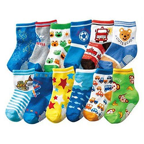 Deer Mum Girl'S Fancy Soft Cotton Socks 6 Pairs front-101778