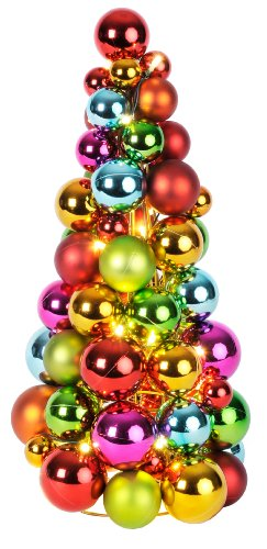 Best-Season-LED-Kugelpyramide-Ball-Wreath-beleuchtet-Material-KunststoffMetall-circa-28-x-24-cm-buntbatteriebetrieben-Vierfarb-Karton-700-02