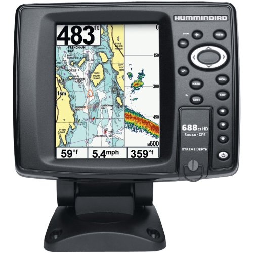 Humminbird 409450 1 688ci hd xd internal gps sonar combo for Hummingbird fish finder parts