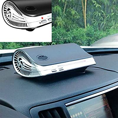 NIUDB New Car Home Office Air Purifier Ionic UV HEPA Ionizer Fresh cleaner Ozone