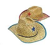Fun Express Adult Cowboy Hat with Star (1 Dozen)