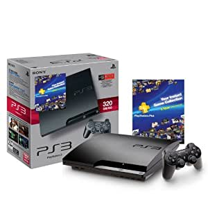 PS3 320 GB PlayStation Plus Instant Game Collection Bundle