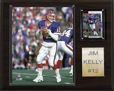 NFL Jim Kelly Buffalo Bills Player Plaque