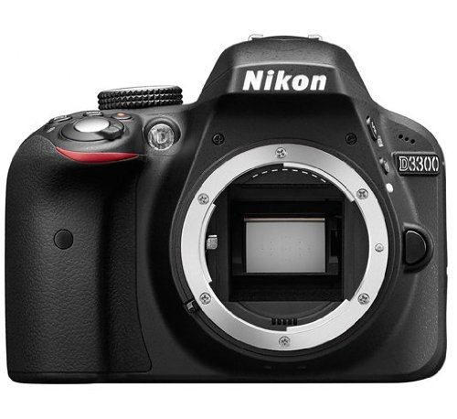 Nikon D3300 Digital Slr Camera Body (Black)