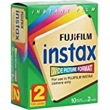 Fuji Wide Instant Color Film Instax for 200/210 Cameras - 2 Twin Packs - 40 Prints