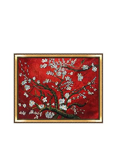 Vincent van Gogh Branches of an Almond Tree in Blossom Framed Hand-Painted Artist's Interpretation...