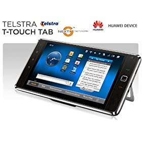 Huawei IDEOS S7 - 104 Telstra T-Touch WI-FI Tablet GSM Android Unlocked Widescreen BLACK
