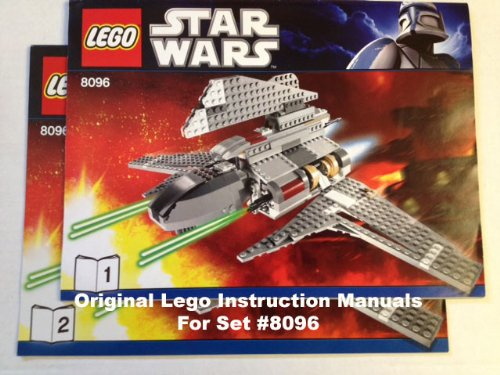 Instruction Manuals For Lego Star Wars Set 10030 Imperial Star
