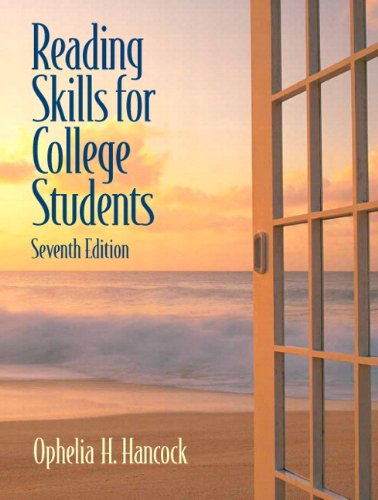 Reading Skills For College Students (with MyReadingLab Student Access Code Card) (7th Edition)