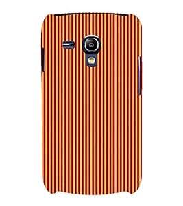 Stripe Pattern 3D Hard Polycarbonate Designer Back Case Cover for Samsung Galaxy S3 Mini :: Samsung Galaxy S3 Mini i8190