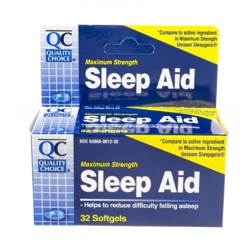 Quality Choice Maximum Strength Sleep Aid