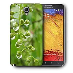Snoogg Green Spring Tree Raindrops Printed Protective Phone Back Case Cover For Samsung Galaxy NOTE 3 NEO / Note III