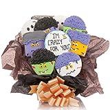 Crazy for you! Cookie Bouquet- 9 Pc Bouquet
