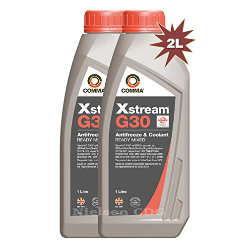 comma-xstream-g30-ready-mix-antifreeze-coolant-red-2x1l2-litre
