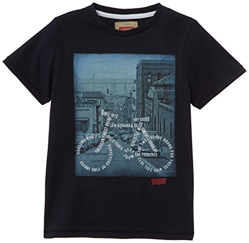 Levi's - Levi'S Tee-Shirt, T-shirt da bambini e ragazzi, blu(blau - blau (dunkles marineblau)), taglia produttore: 110
