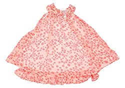 Style Loft Girls' Frock (FROCKS 3_6-7 Years, Pink, 6-7 Years)
