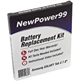 Samsung GALAXY Tab 3 7.0 Battery Replacement Kit with Video Installation DVD, Installation Tools, and Extended... by NewPower