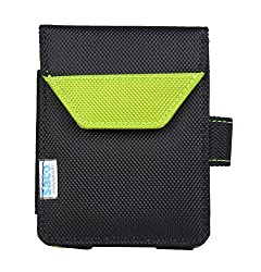 Saco Plug and play External Hard Disk Pouch Cover Bag for WD Elements 2TB USB 3.0 Portable Hard Disk - Green