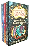 Cressida Cowell How to Train Your Dragon set: 3 books by Cressida Cowell, How to Steal a Dragons's Sword etc