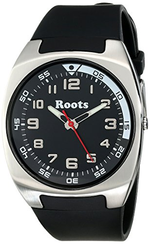 Roots Men's 1R-AT450BA1B Galiano Analog Display Analog Quartz Black Watch (Black Watch Of Canada compare prices)