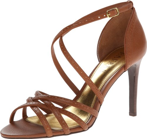 Lauren Ralph Lauren Women'S Sasha Dress Sandal,Polo Tan,6 B Us