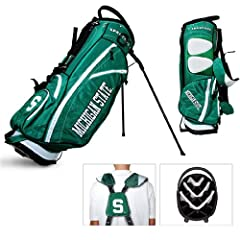 Brand New Michigan State Spartans NCAA Stand Bag - 14 way by Things for You
