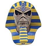 Loftus International Iron Maiden Powerslave Cover Full Head Mask Beige Blue Yellow One-Size Novelty Item