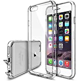 "iPhone 6 Case - Ringke FUSION iPhone 6 Case 4.7 "" **NEW** [Dust Cap&Drop Protection][CRYSTAL VIEW] Premium Crystal Clear Back Shock Absorption Bumper Hard Case for Apple iPhone 6 4.7 Inch - Eco/DIY Package"