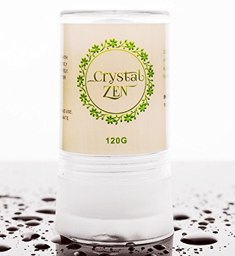 Crystal Zen Body+Feet Travel Deodorant Stick, Unscented, Extra Fresh for Men+women, 4.25 Ounce, 2.12 Ounce (Set of 3)