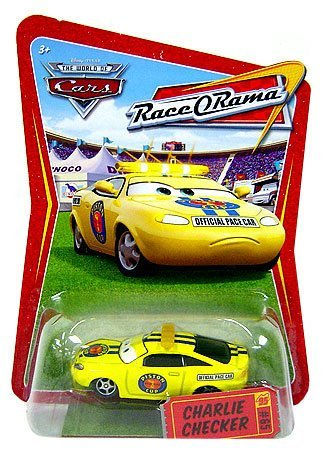 CHARLIE CHECKER #65 * RACE-O-RAMA * Disney / Pixar CARS 1:55 Scale THE WORLD OF CARS Die-Cast Vehicle
