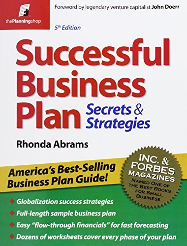 successful inception plan rhonda abrams pdf parallelism