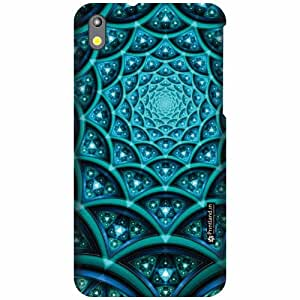Printland Designer Back Cover for HTC Desire 816G - Creative Art Case Cover