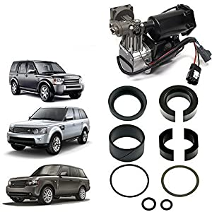 LAND ROVER DISCOVERY 3 4, RANGE ROVER SPORT AND LATE MODEL RANGE ROVER L322 AIR COMPRESSOR EAS PISTON SEAL RING REPAIR KIT